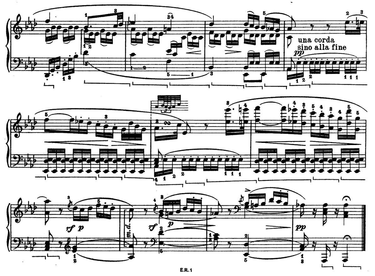 ベートーベン 悲愴 第 2 楽章
